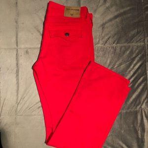 MENS True Religion Jeans (Red)